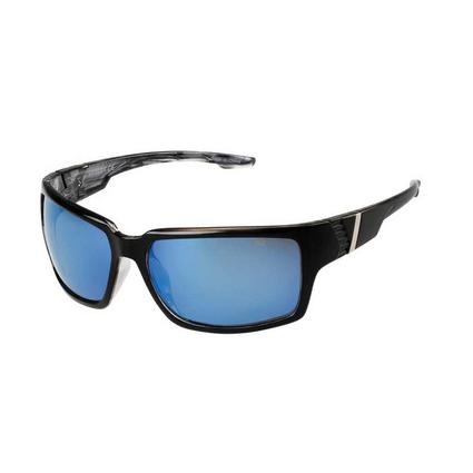 NASCAR Collection Sunglasses, Black/Gray Frames with Sky Blue Lenses