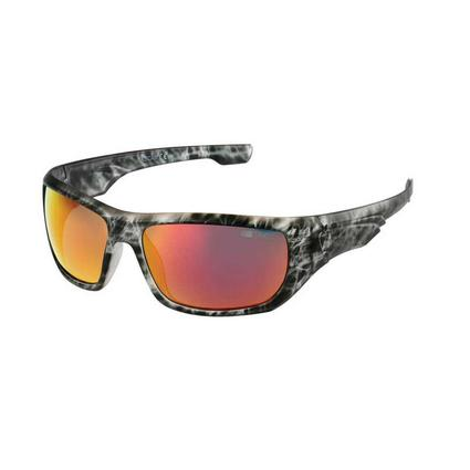 NASCAR Collection Sunglasses, Marbled Charcoal Frames with Yellow/Orange Lenses