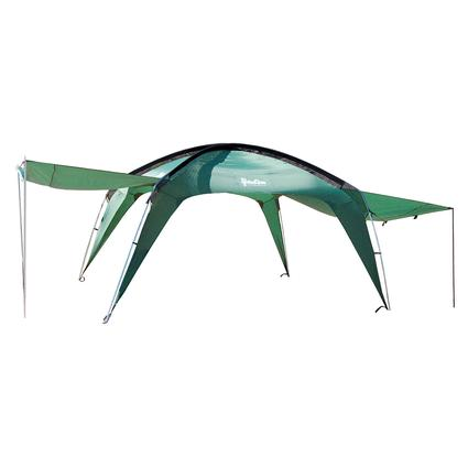 PahaQue Cottonwood XLT 10 x 10 with Awnings, Green
