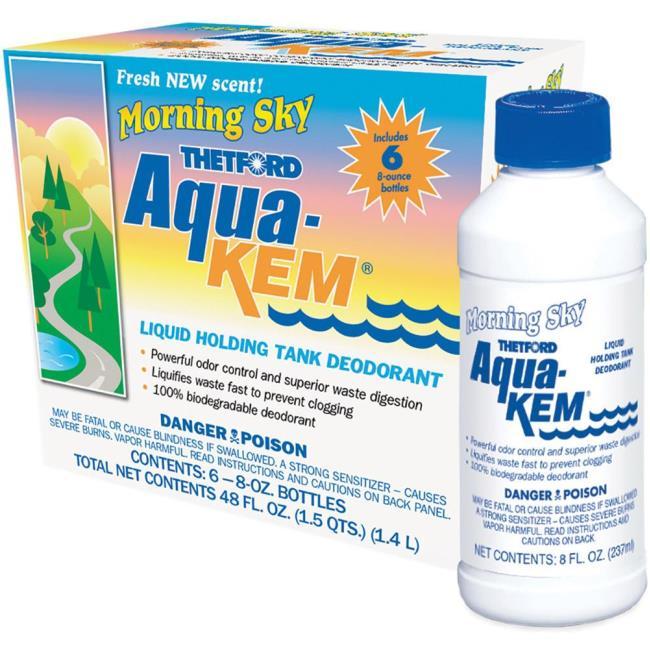Aqua Kem Morning Sky Liquid Holding Tank Deodorant Six Pack