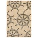 Natural Shipwheel Neutral Rug, 23
