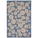 Blue Shell Toss Rug, 58