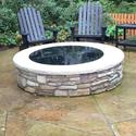 Round Fire Pit Cover, 36