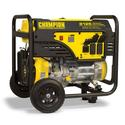 Champion 6500 Watt Portable Generator with Wheel Kit