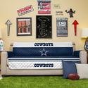 NFL Cowboys Sofa Cover