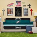 NFL Eagles Sofa Cover