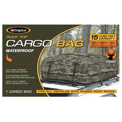 Roof Top Cargo Bag, Camo