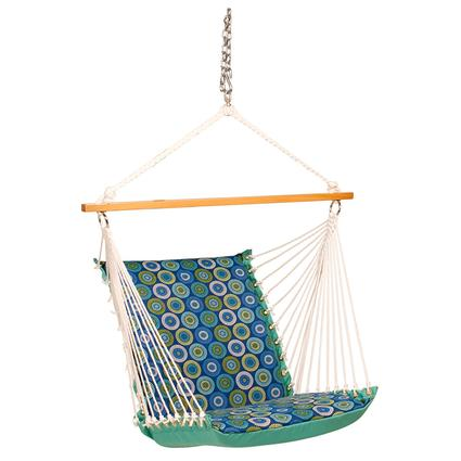 Hanging Soft Comfort Chair, Jax Lagoon Blue