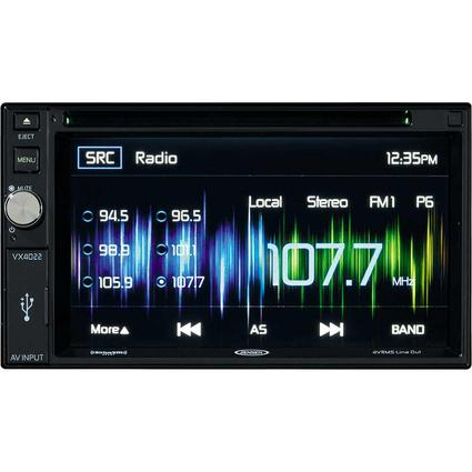 Jensen 2DIN AM/FM Multimedia Receiver with Built-In Navigation and Retail kit for the VX4022A
