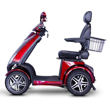 4 Wheel Heavy Duty Scooter, Red