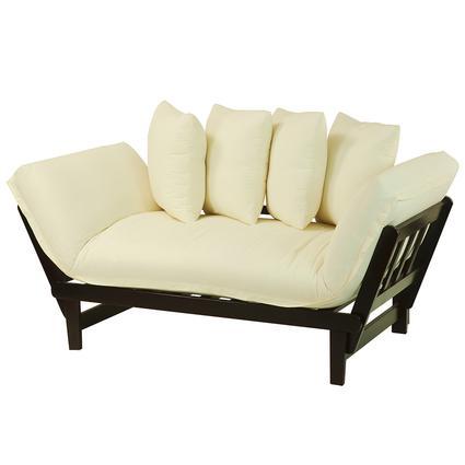 Casual Lounger Sofa Bed, Espresso