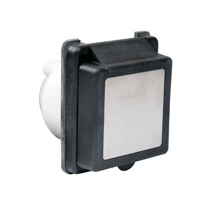 30A 125V Standard RV Power Inlet, Black