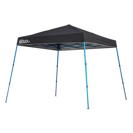 10x10 Quik Shade Solo LT 50 Instant Canopy - Charcoal/Blue