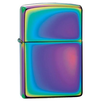 Zippo Lighter, Spectrum Shimmer Finish