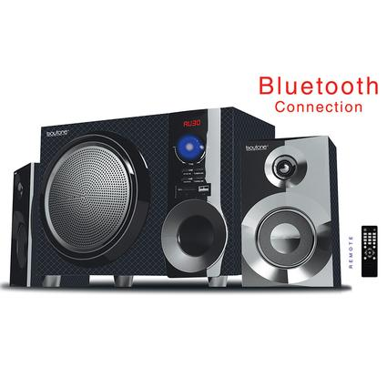 Bluetooth Shelf Speaker System, Diamond Text