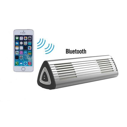 Ultra-Portable Bluetooth Speaker, Silver