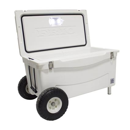 Frio Extreme Hard Side Ice Chest, White, 65 Qt.