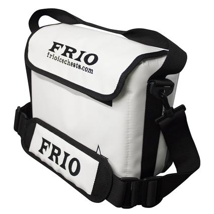 Frio Vault Soft Side Cooler, White, 6 Cans