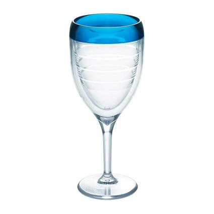 Tervis Wine Glass, Blue Infusion
