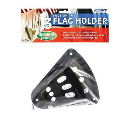 Flag Holder - Black