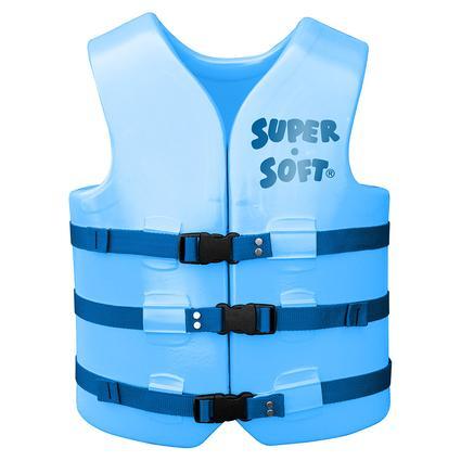 Super Soft Adult Life Vest, X-Small, Marina Blue