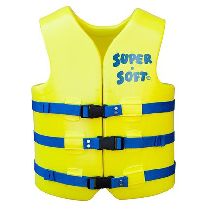 Super Soft Adult Life Vest, Medium, Yellow