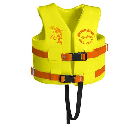 Super Soft Child Life Vest, Small, Yellow