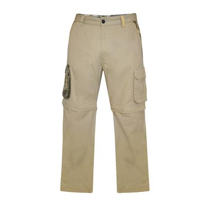 Realtree Men's Ripstop Zip-Off Cargo Pant, Chinchilla, 36x32
