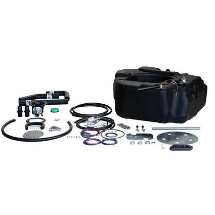 Titan Spare Tire Auxiliary Fuel System, For 2001-2010 GM 2500 3500 Pickups with Duramax Engine