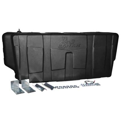 Titan In-Bed Fuel Transfer Tank, 100 Gallon Rectangular DEF Compatible Transfer Tank