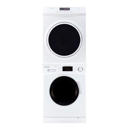 Equator Set of Super Washer and Standard Dryer with Sensor Dry