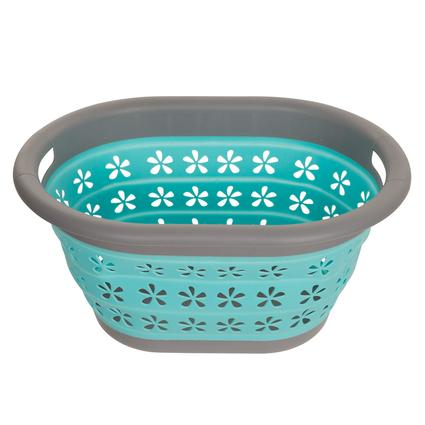 Pop Lock Collapsible Laundry Basket