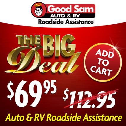 1 Year of Good Sam Roadside Assistance