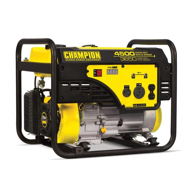 Champion 3650 Watt Portable Generator, CARB Compliant - Champion ...