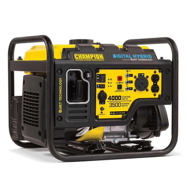 Champion 3500W Open Frame Generator - Champion Generators 100302 ...