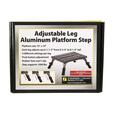 Adjustable Leg Platform Step