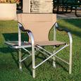 Aluminum Extra Large Directors Chair, Tan