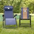 Home is Where You Park It Zero Gravity Recliner, Navy