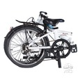 Ford by Dahon Muon 7-Speed 20 Aluminum Folding Bicycle, White