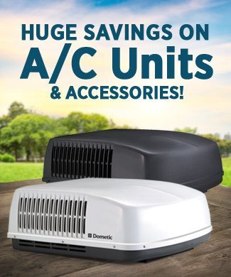 Huge savings on A/C units and accessories!