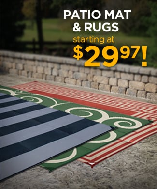 Patio Mats and Rugs Starting at $29.97