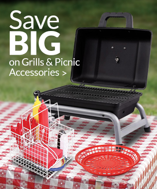 Save BIG on Grills & Picnic Accessories >