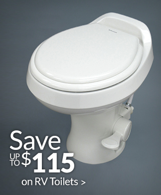 Save up to $115 on RV Toilets >