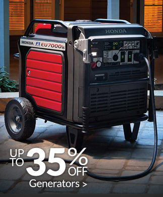 Save up to 35% on Generators >