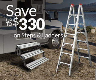Save up to $330 on Steps & Ladders >